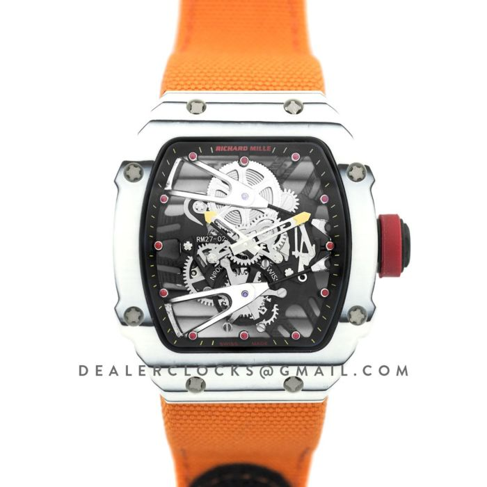 Richard Mille Rm27 02 Tourbillon Rafael Nadal Replica