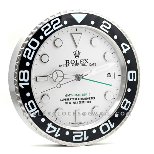 GMT Master II Series White Dial RX108