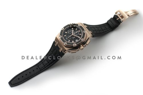 Royal Oak Offshore Juan Pablo Montoya Rose Gold