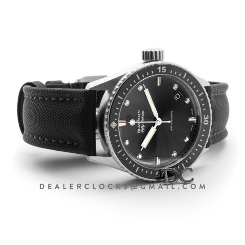 Fifty Fathoms Bathyscaphe in Grey Dial 43mm Ref. 5000-1110-B52A