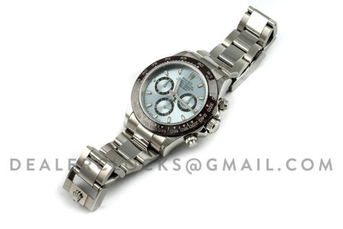 Daytona 116506 Platinum Ice Blue Dial