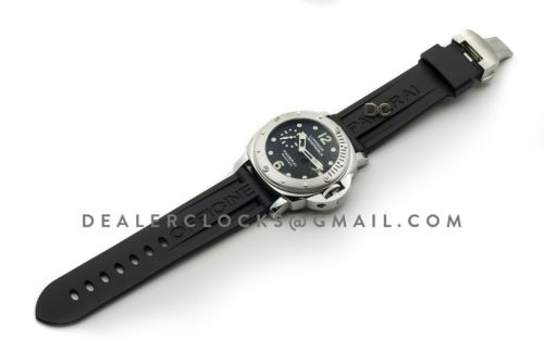 PAM024 Luminor Submersible Automatic Acciaio New Series