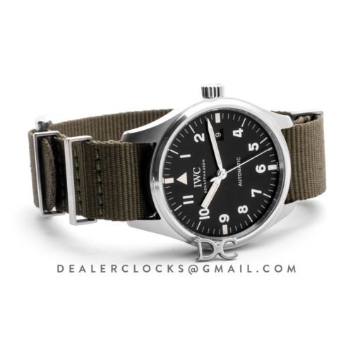 Pilot's Watch Mark XVIII Edition (Tribute to Mark XI) IW327007 Black Dial in Steel
