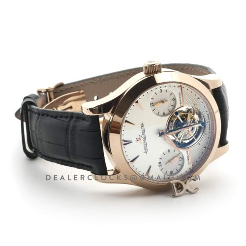 Master Grande Tradition Tourbillon Cylindrique a Quantieme Perpetuel White Dial in Rose Gold