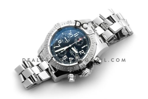 Avenger Skyland Blue Dial in Steel