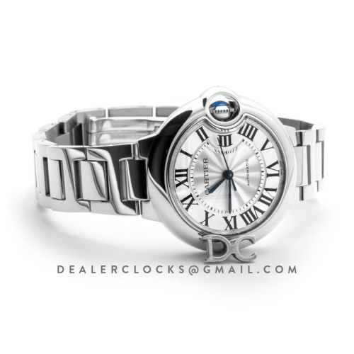 Ballon Bleu De Cartier 36mm Silver Dial in Steel