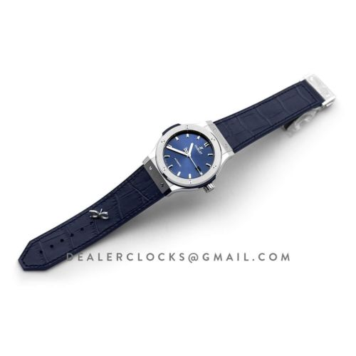 Classic Fusion Automatic 42mm Blue Dial