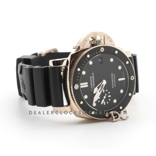 PAM684 Luminor Submersible 1950 3 Days Automatic Oro Rosso