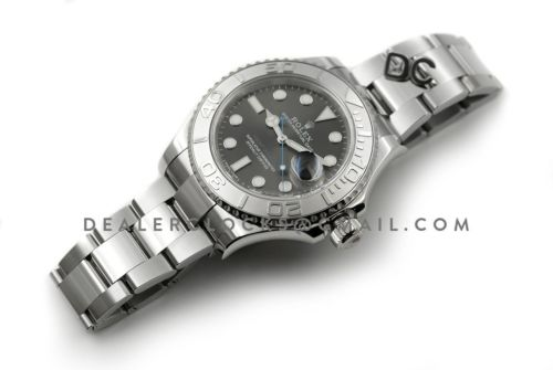 Yacht-Master 116622 Rolesium Grey Dial
