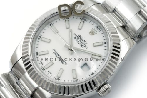 Datejust II 116300 White Dial