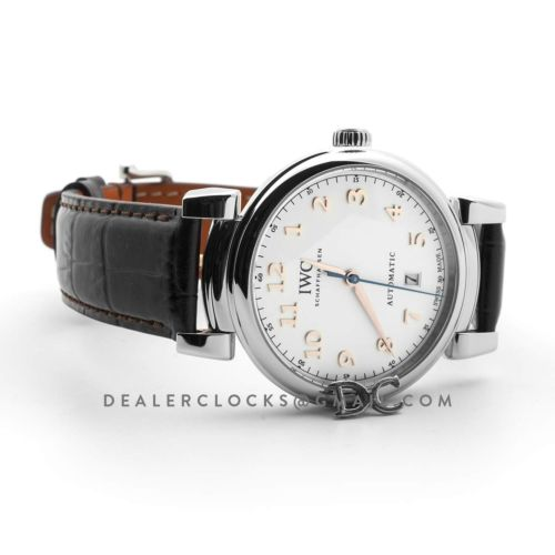Da Vinci Automatic Edition '150 Years' IW356601 White Dial in Steel