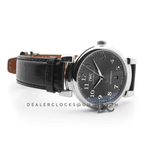 Da Vinci Automatic Edition '150 Years' IW356602 Grey Dial in Steel