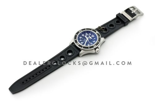 SuperOcean II 44mm Black Dial