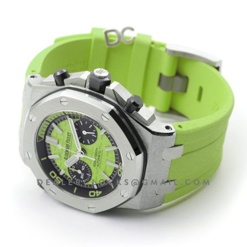 Royal Oak Offshore Diver Chronograph in Green