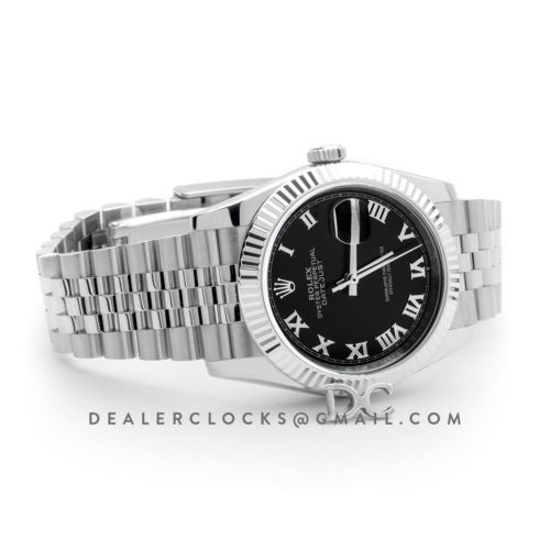 Datejust 36 116234 Black Dial with Roman Numeral Markers