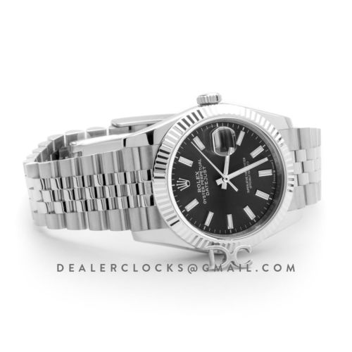 Datejust 36 116234 Grey Dial with Stick Markers