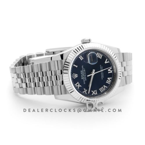 Datejust 36 116234 Blue Dial with Roman Numeral Markers
