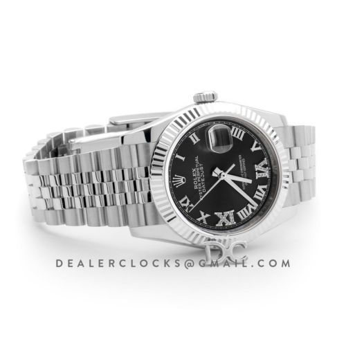 Datejust 36 116234 Grey Dial with Roman Numeral Markers