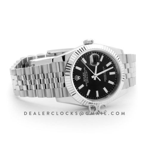 Datejust 36 116234 Black Dial with Stick Markers