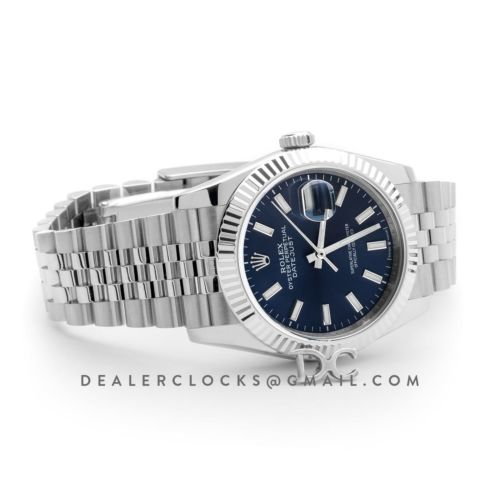 Datejust 36 116234 Blue Dial with Stick Markers
