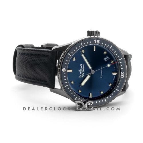 Fifty Fathoms Bathyscaphe in Blue Dial 43mm Ref. 5000-0240-O52A