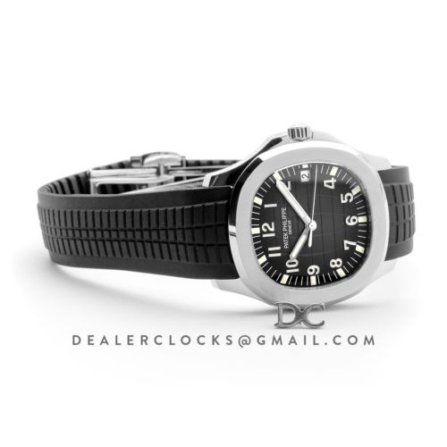 Aquanaut 5167 Black Dial in Stainless Steel