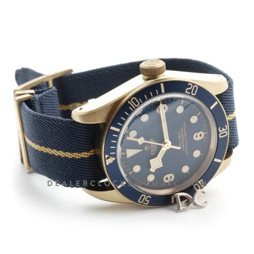 Tudor Heritage Black Bay Bronze Blue Bucherer Edition