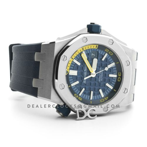Royal Oak Offshore Diver Steel Blue Dial 15710ST SIHH 2017