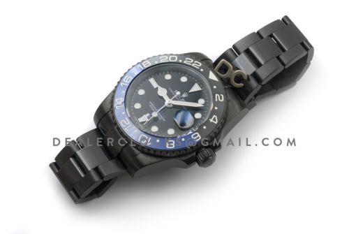 GMT Master II 116710 BLNR in PVD Black