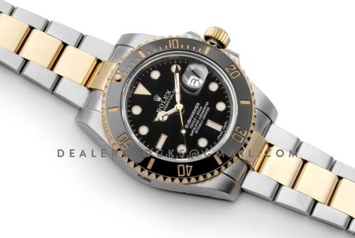 Submariner 116613LN Black Ceramic