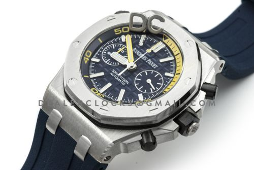 Royal Oak Offshore Diver Chronograph in Blue
