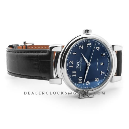 Da Vinci Automatic Edition '150 Years' IW356605 Blue Dial in Steel