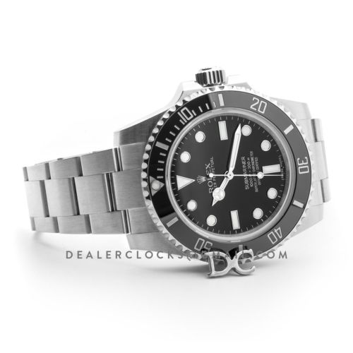 Submariner 114060 'No Date' Black Ceramic