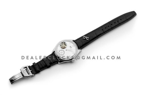 Portuguese Tourbillon Hand Wound IW5463 Silver Dial in White Gold