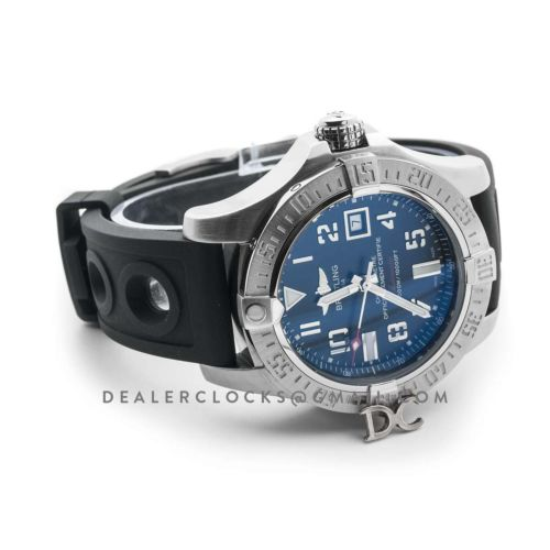 Avenger II Seawolf Black Dial in Steel