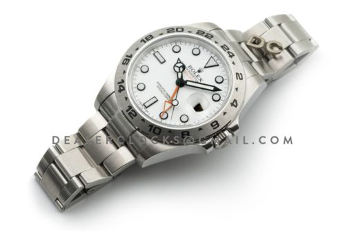 Explorer II 216570 White Dial