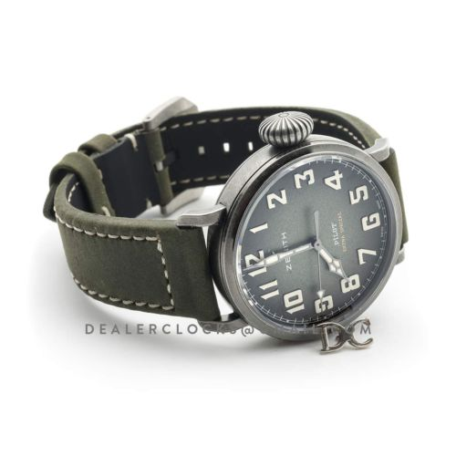 Pilot Type 20 Extra Special 40mm Khaki Dial in Aged Steel