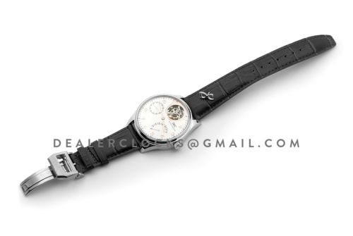 Portuguese Tourbillon Mystère Rétrograde IW504201 in White Gold