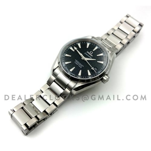 Seamaster Aqua Terra 150m 'James Bond' Black Dial
