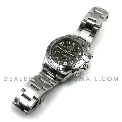 Daytona 116509 Slate Grey Dial in White Gold