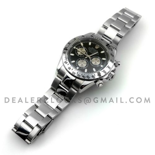 Daytona 116509 Black Dial in Steel