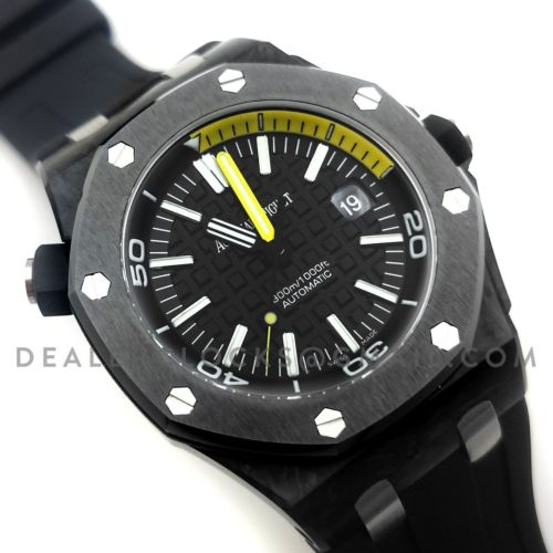 Royal Oak Offshore Diver Forged Carbon