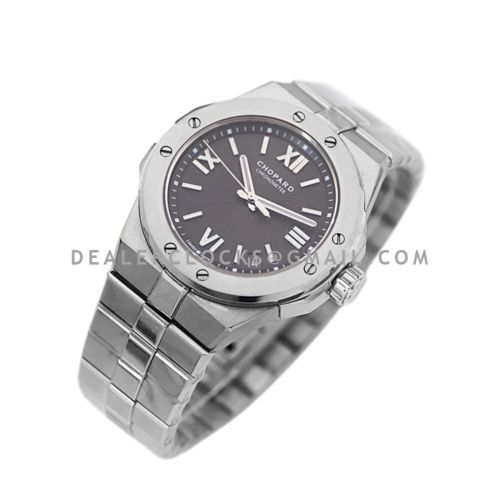Alpine Eagle Large 41mm Grey Dial in Steel