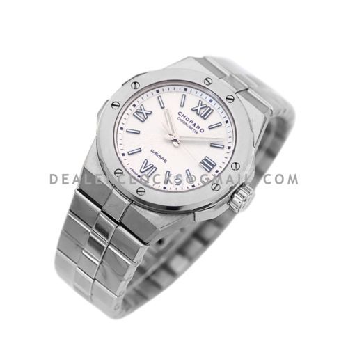 Alpine Eagle Large 41mm Wempe 5th Avenue Edition White Dial in Steel