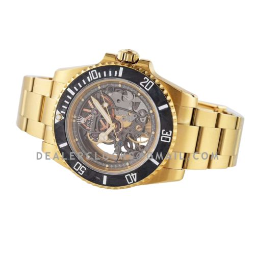 Andrea Pirlo Project 114060 Submariner in Yellow Gold