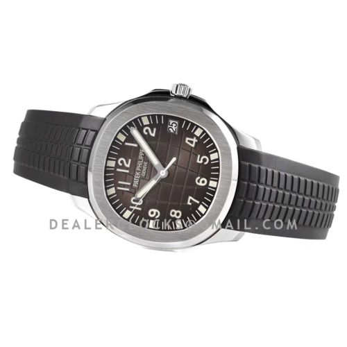 Aquanaut 5165A-001 Black Dial in Steel