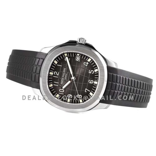 Aquanaut 5167A-001 Black Dial in Steel