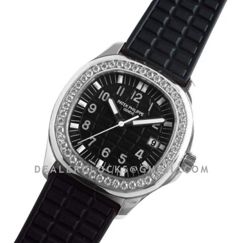 Aquanaut Luce 5067A-011 Black Dial in Steel