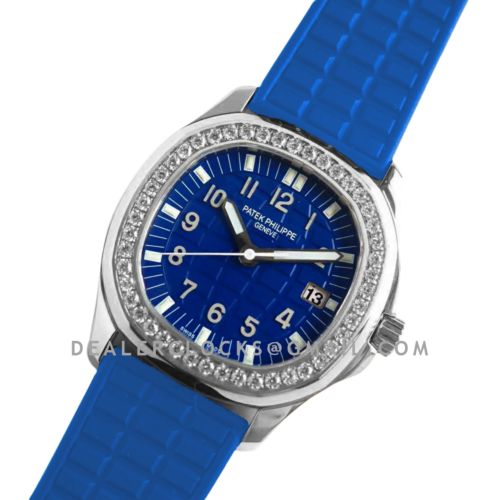 Aquanaut Luce 5067A-014 Blue Dial in Steel
