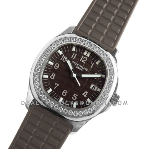 Aquanaut Luce 5067A-023 Brown Dial in Steel